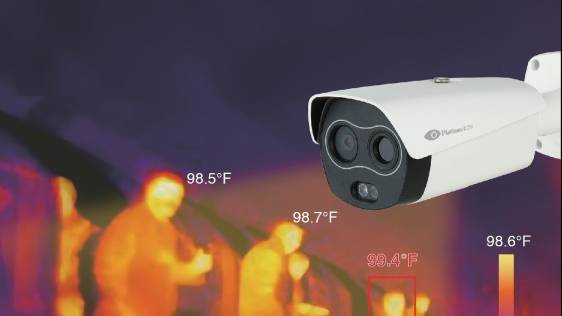 Thermal body temperature scanners